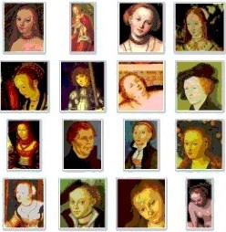 Paintings by Lucas Cranach the Elder