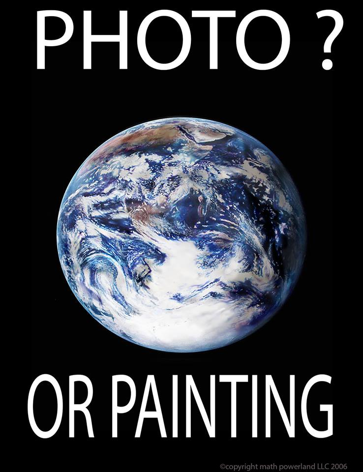 Photo or Painting? -Copyright Math Powerland